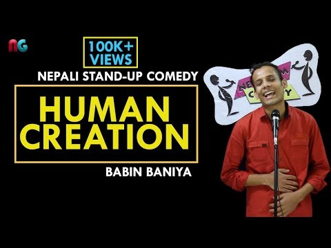Human Creations | Nepali Stand-up Comedy | Babin Baniya | Nep-Gasm COmedy
