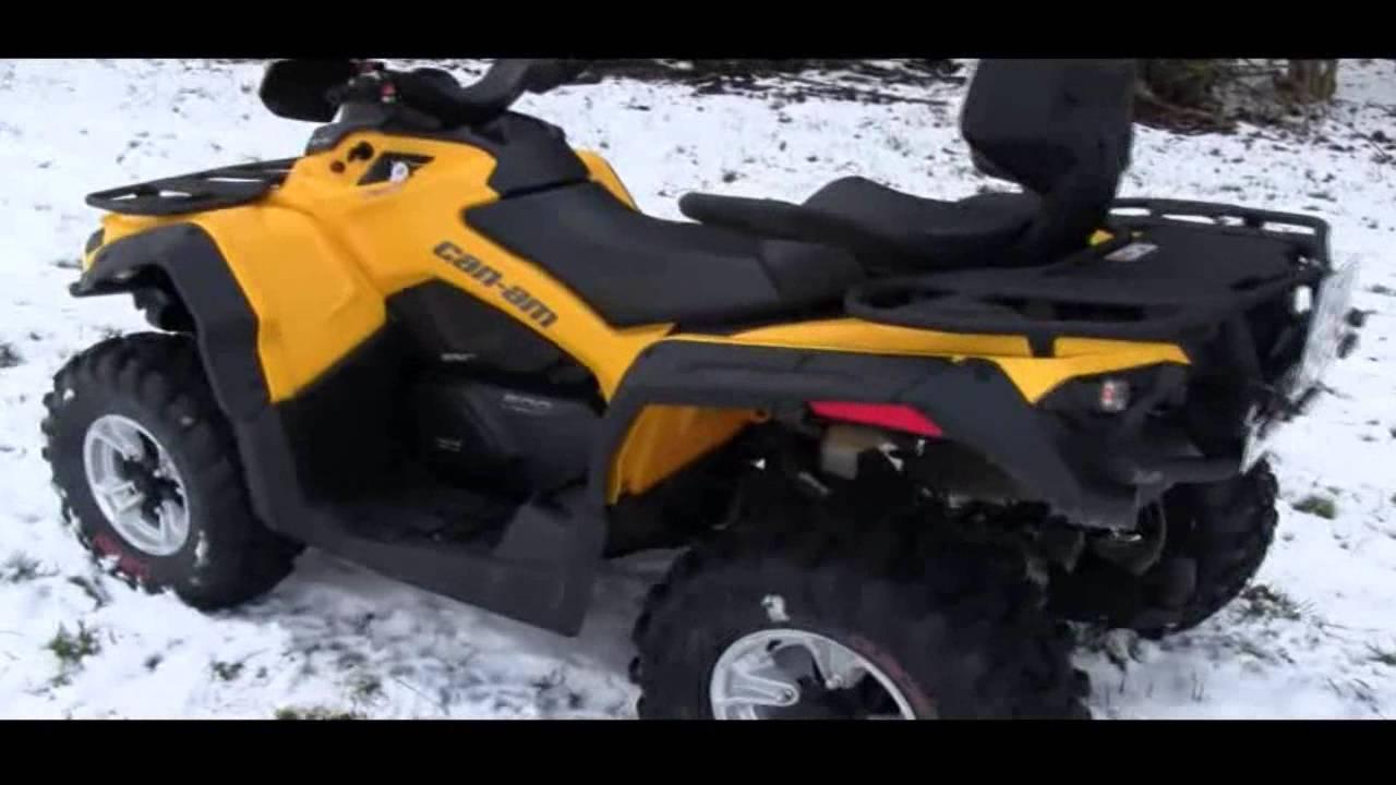 quad can am 500 max