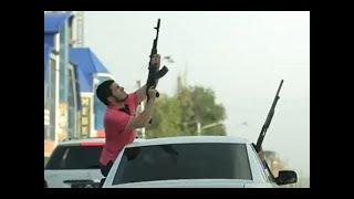 стрельба на чеченской свадьбе