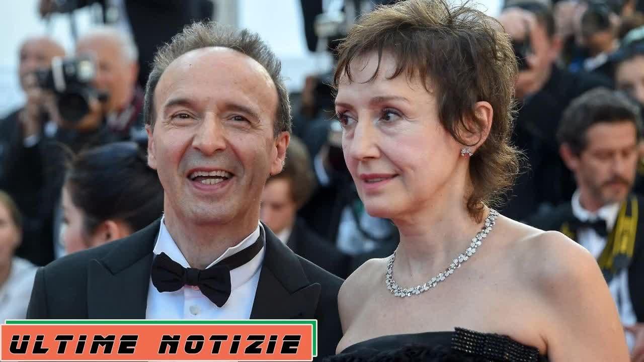 """Lei ha mollato"""". Roberto Benigni, la clamorosa voce sulla moglie Nicoletta  Braschi - YouTube"""