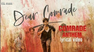 comrade-anthem-al---dear-comrade-vijay-devarakonda-reshmika