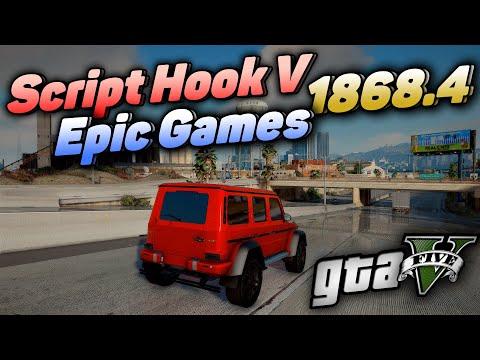 Вышел Script Hook V 1868.4 для GTA 5 от EPIC GAMES STORE! CRITICAL ERROR РЕШЕНИЕ! ГТА 5 Скриптхук!