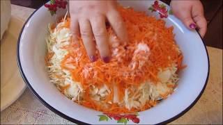 Как засолить вкусную капусту на зиму