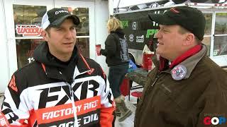 Sen. Schmidt interviews I-500 racer Aaron Mayer