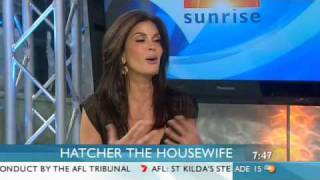 Teri Hatcher - funny interview on Sunrise with Kochie