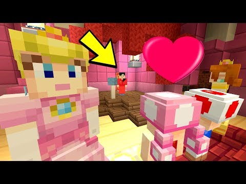 TOADETTE'S BIG DATE! [GONE WRONG] - Peach's Princess Pals - (Minecraft Switch) [4]