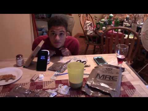 My first DIY How to ready MRE (Meal Ready to Eat)