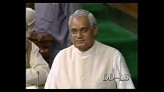 Atal Bihari Vajpayee Speech at Dawn of his stable government