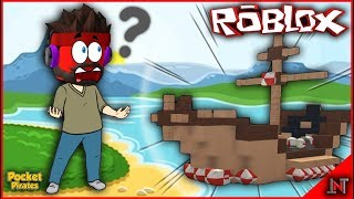 ROBLOX Indonesia #199 Pocket Pirates | Is this BIG ship able to pass obstacles???