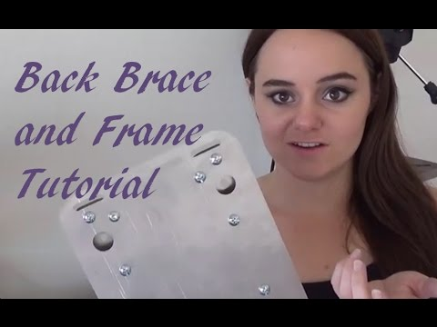 Back Plate and Frame Tutorial