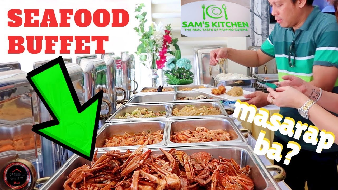 Seafood Buffet at SAM'S KITCHEN in Doha