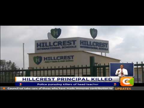 Hillcrest head teacher - an Australian, killed in Karen