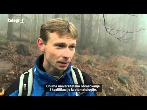Aleksandar Pirivatrić živi u šumi u Češkoj 15 godina - Serb has been living in the woods since 2000!