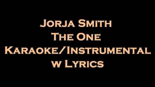Jorja Smith - The One Karaoke/Instrumental w Lyrics