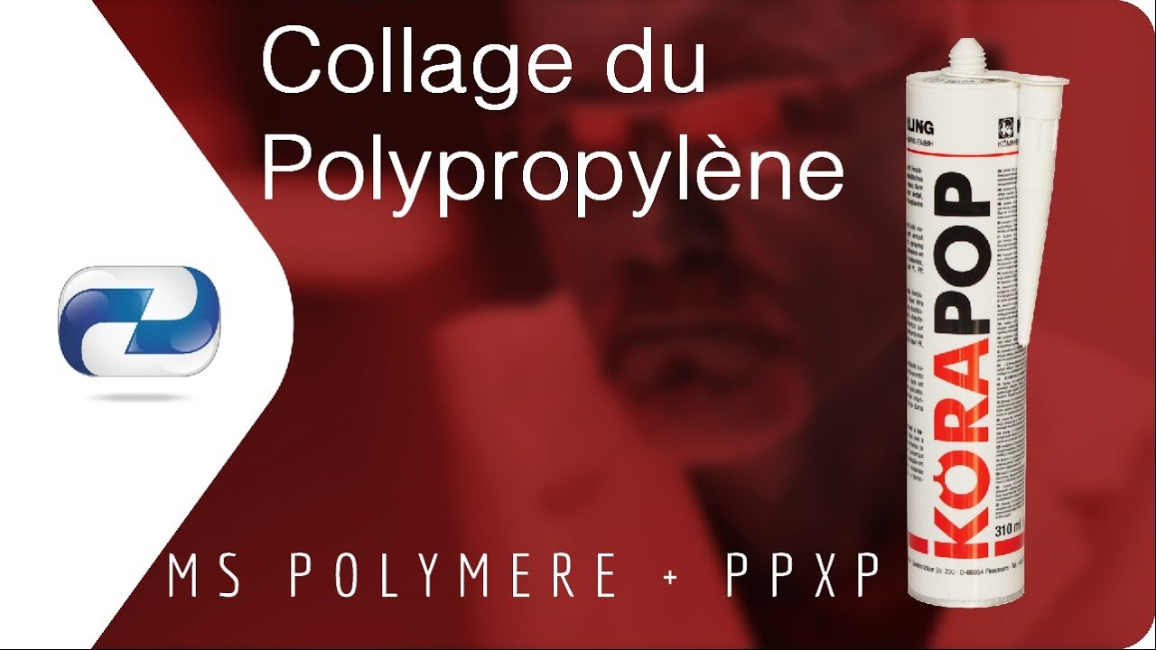 Collage du Polypropylène et du Polyéthylène