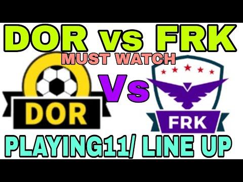 DOR VS FRK FOOTBALL MATCH DREAM11 TEAM , GERMAN FANTASY LEAGUE, SQUAD, LINEUP, PREVIEW, PREDITION