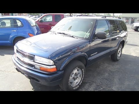 2004 CHEVROLET BLAZER 4.3L V6 Walk Around tour by Automotive Review
