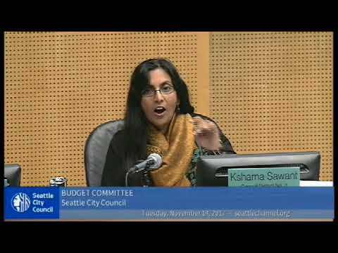 Seattle City Council Supports Taxing Big Business... and then vote NO?