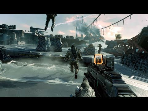 Download Youtube: Dynamic Assault of Aircraft Carrier in Cool FPS Game Call of Duty Advanced Warfare