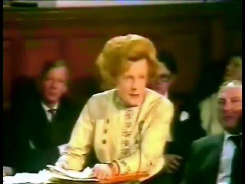 Barbara Castle - EEC Referendum (1975) - Oxford Union Debate