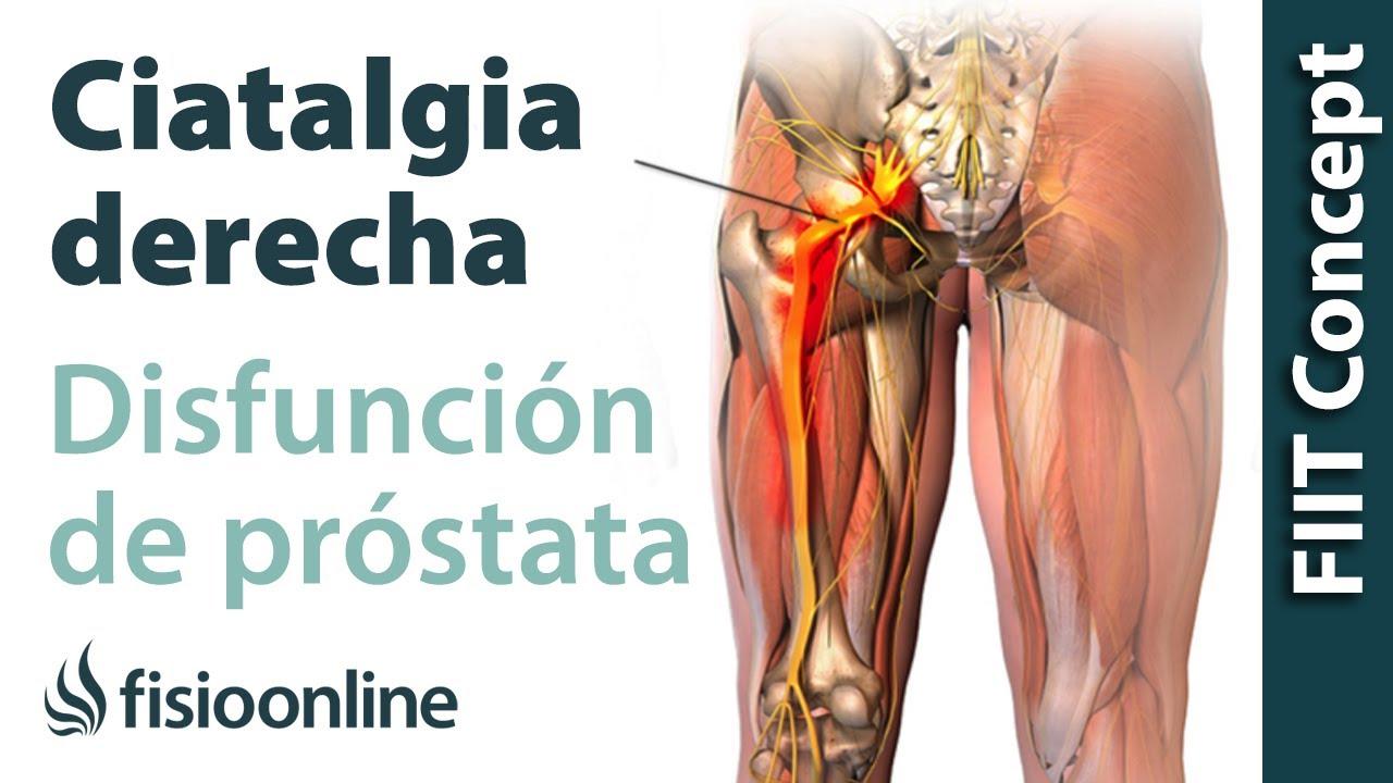 la prostata agrandada produce dolores