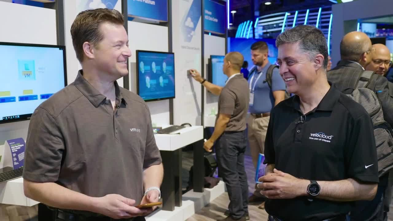 SD-WAN Insights from Sanjay Uppal at Dell Technologies World 2019