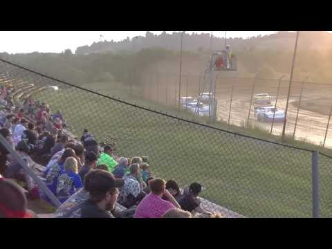 2016 07 23 Kyle Knapp Steelblock Latemodel Heat Race @ Marion Center Speedway