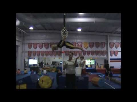 Worlds Strongest 6 year Old Gymnast Tanner G.