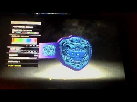 Wwe 13 Title Editor/Management part 1