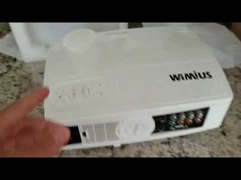 Wimius T4 Projector Setup Overview