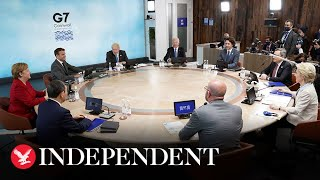 Boris Johnson says G7 summit is a chance to learn Covid lessons