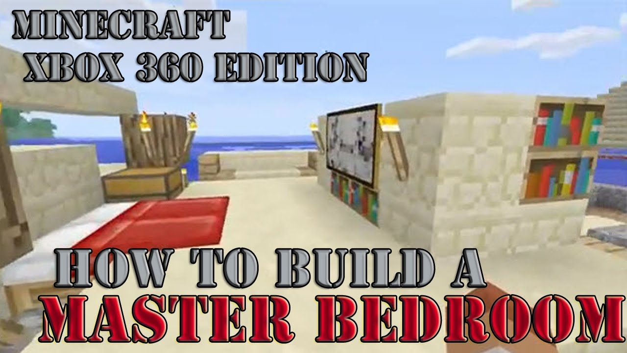 How To Build A Master Bedroom Part 2 Minecraft Xbox 360