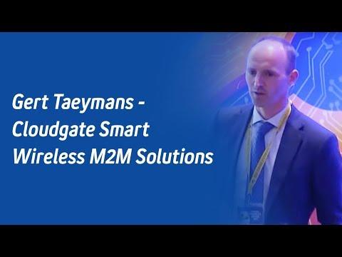 Gert Taeymans - Cloudgate Smart Wireless M2M Solutions