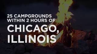 25 Campgrounds Within 2 Hoขrs of Chicago, IL