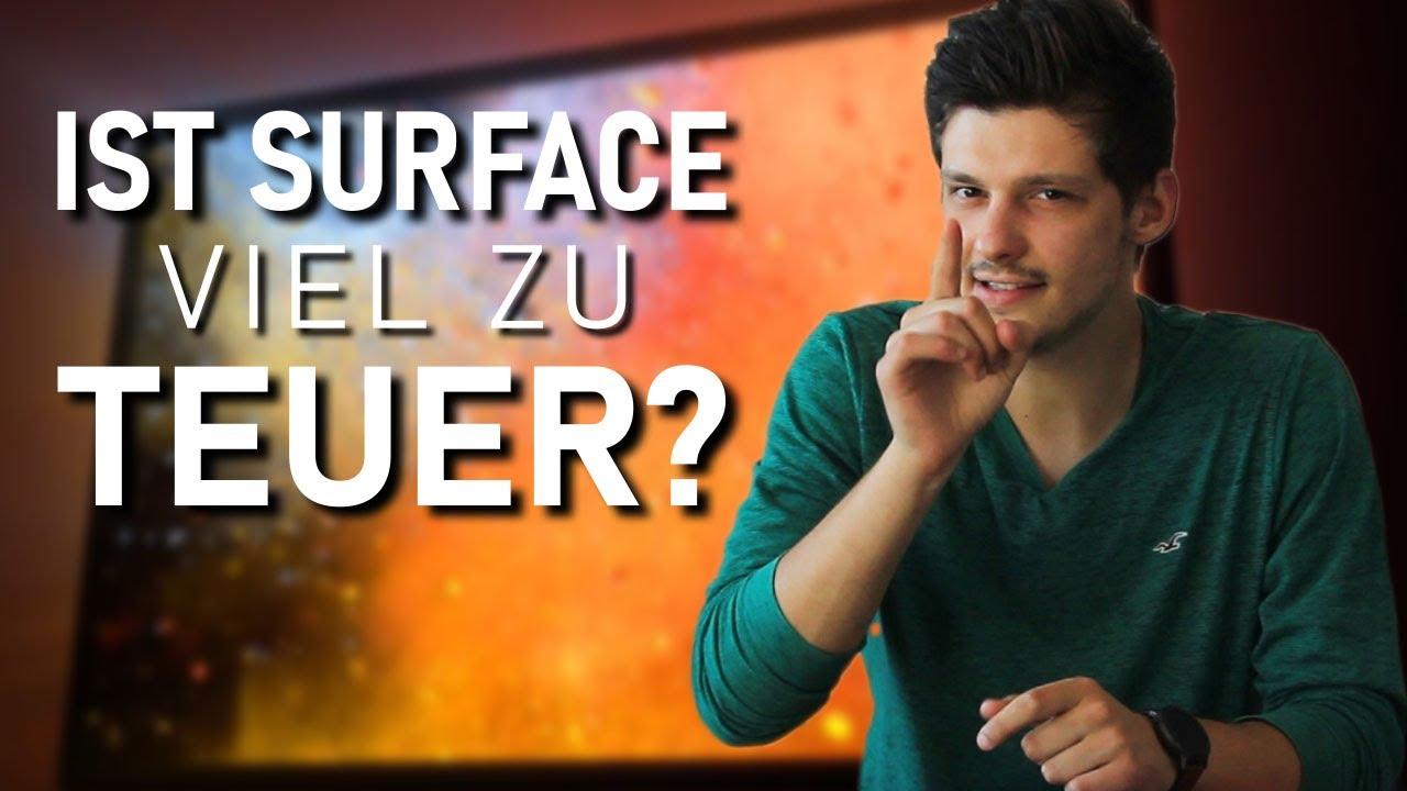 Sind Surface Geräte ÜBERTEUERT?