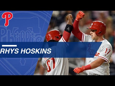 Hoskins sets record with 14 homers in first 30 games