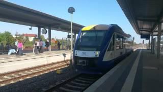 Harz Elbe Express in Halberstadt (Kupplung)
