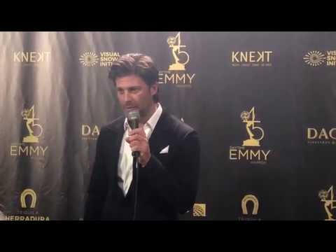 Days of our Lives' Greg Vaughan  on his 2018 Daytime Emmy win for best Supporting Actor