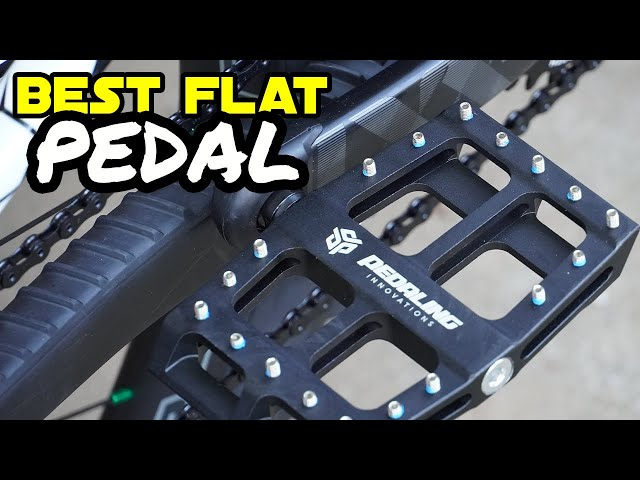 Say goodbye to foot pain on flats! - Pedaling Innovations Evo & Catalyst Pedals - 90 Second Review