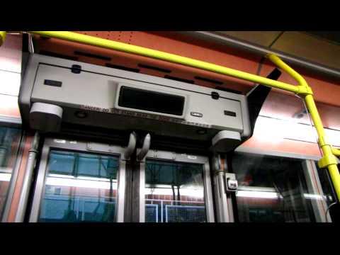 KMB Scania K230UB ASB1 - Rear Door opens and closes