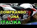 COMPRANDO UNA ITALIKA VORT-X 300 - BLITZ RIDER