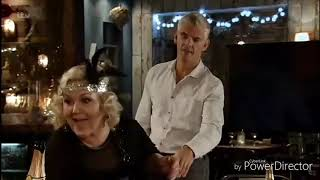 Coronation Street - Chesney Pushes Beth and Hurt Her Wrist (1st January 2018)