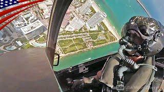 【F-35戦闘機のアクロバット・デモ飛行】コックピット映像満載!(F-35デモンストレーション・チーム)