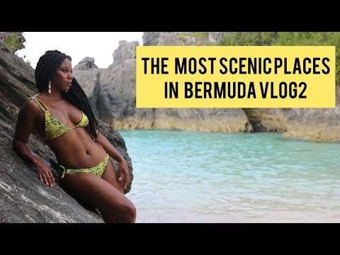 The Most Scenic Places in Bermuda VLOG 2