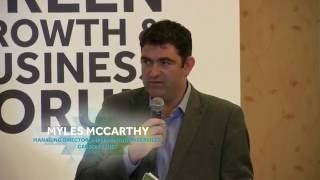 Green Growth & Business Forum 2016: Enhancing Energy Efficiency in Industry