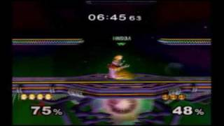 Cosmo Zelda Vs. Hondafoo Peach 1