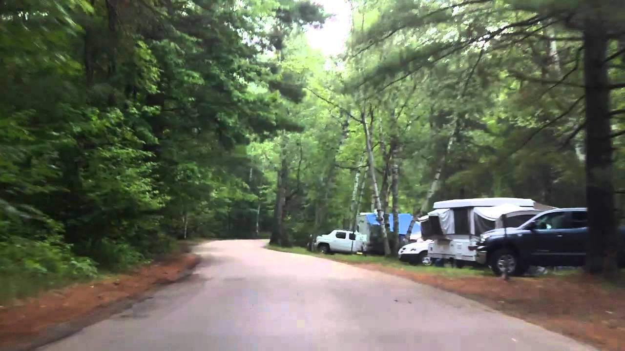 Fish creek pond campground southbound youtube for Fish creek pond