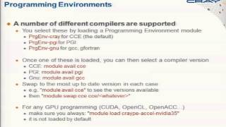OpenACC Tutorial: Using the Cray Programming Environment