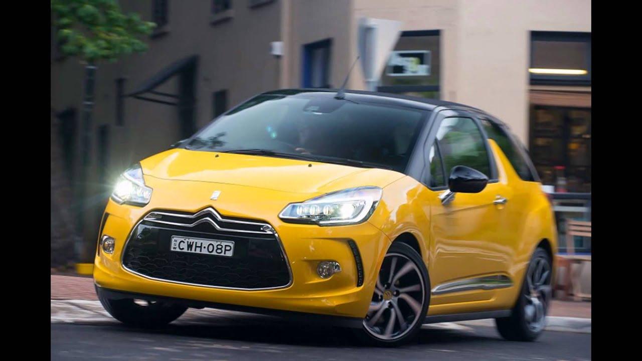 2016 citroen ds3 cabrio sport yellow youtube. Black Bedroom Furniture Sets. Home Design Ideas