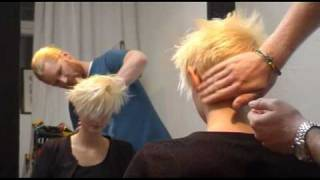 Behind the scenes at Stockholm fashion week and Cbook shoot with Johan Bergelin